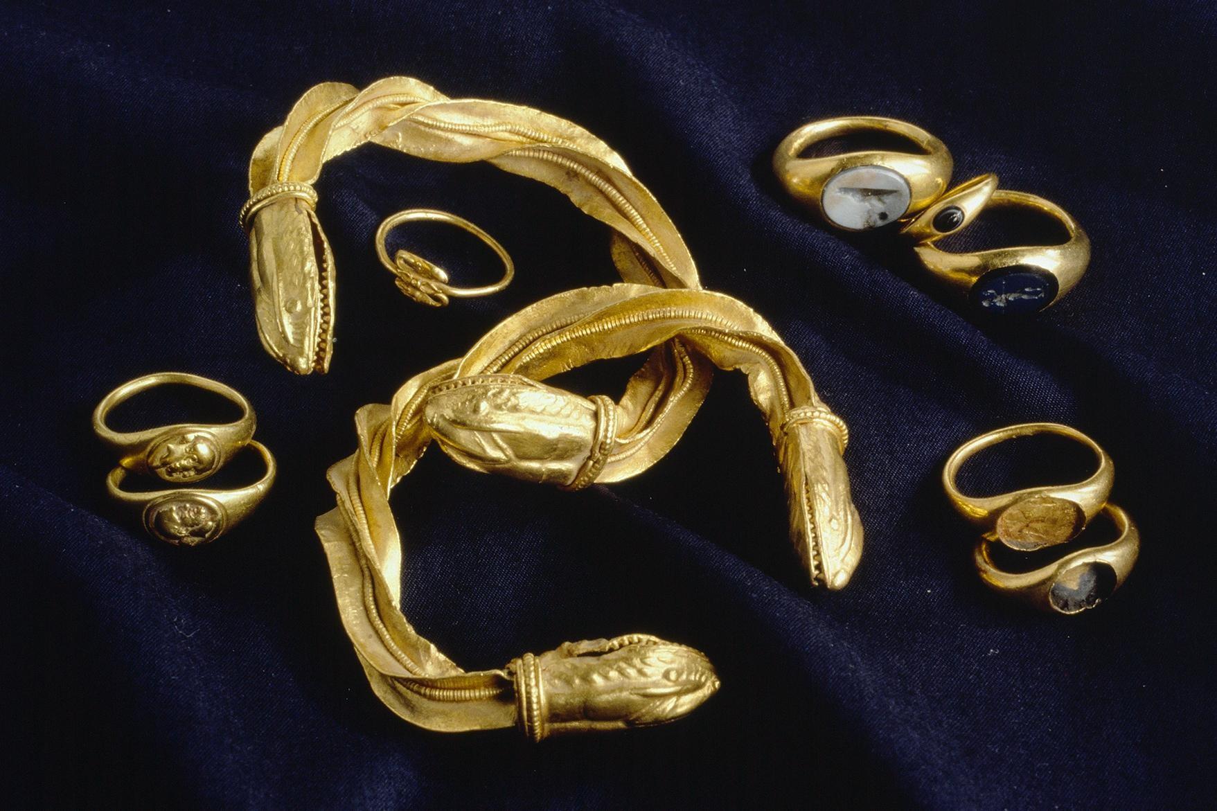 Römischer Goldschmuck Turicum
