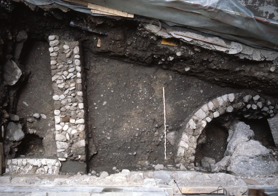 Römische Gebäudereste in der Storchengasse Zürich