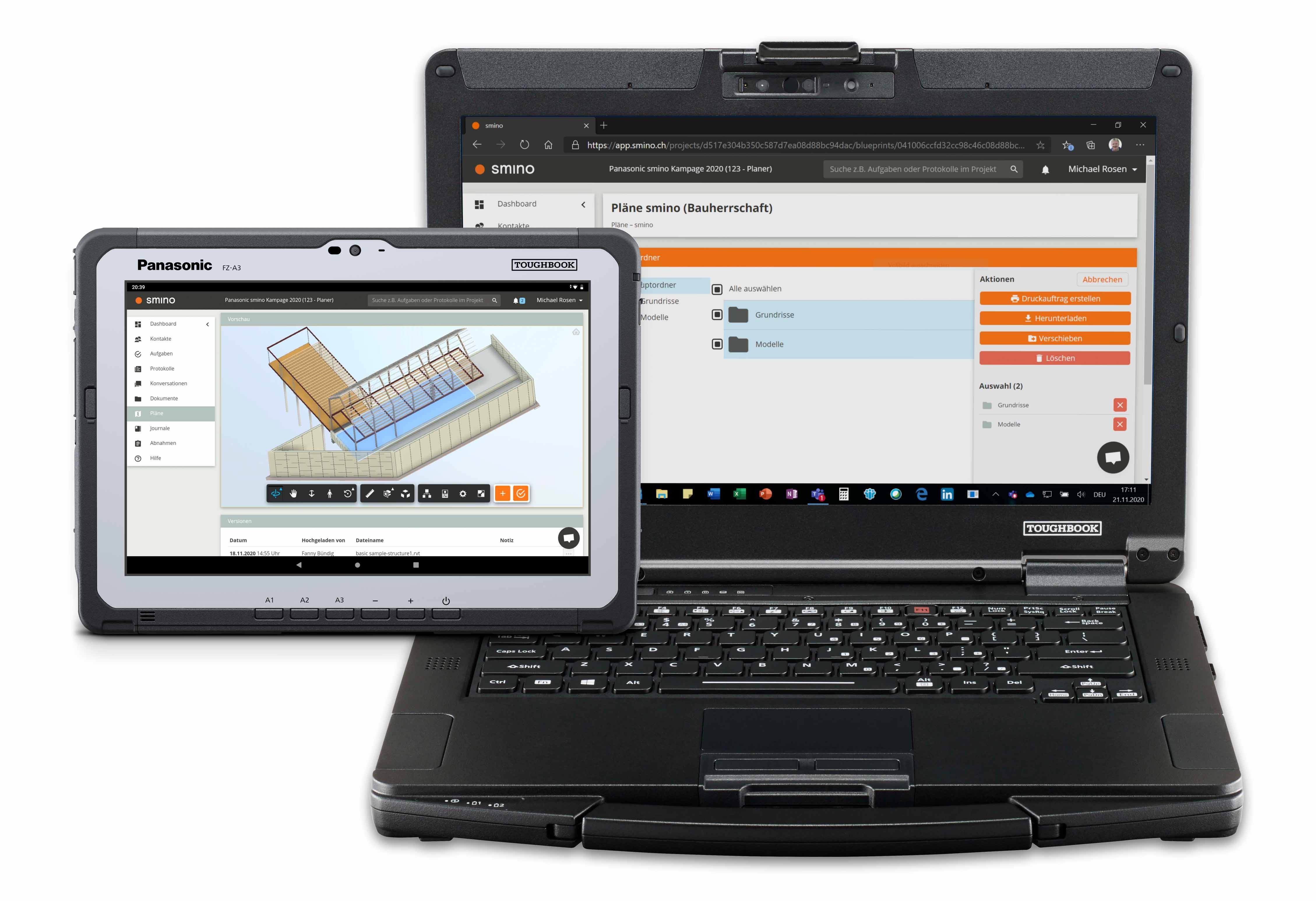 TOUGHBOOK Notebooks und Tablets