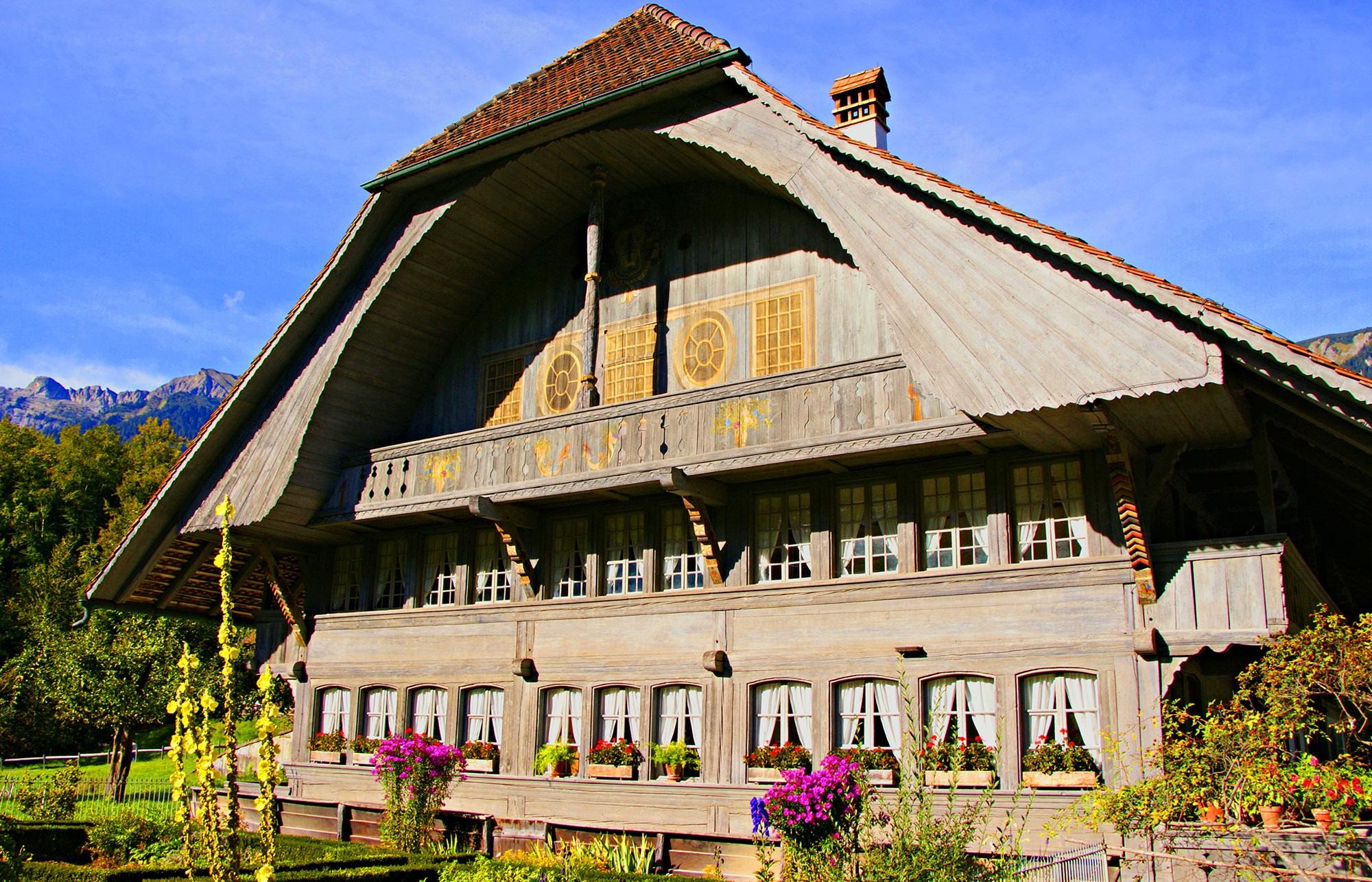 Bauernhaus in Ostermundigen (Symbolbild)