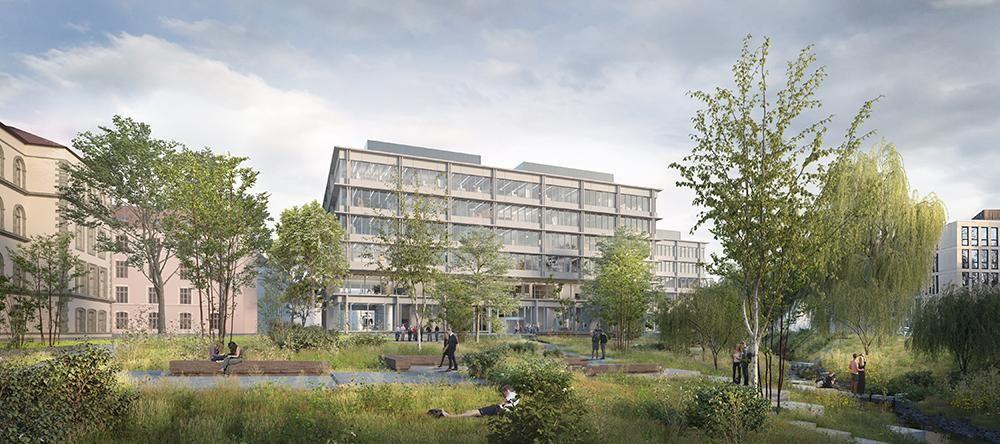 Visualisierung Park ZHAW-Campus T