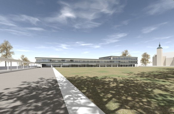 Visualisierung neues Stadthaus Kreuzlingen