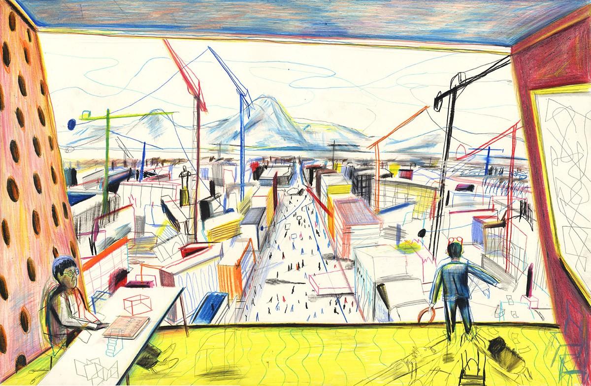 3_Big-City-Life_Yann-Kebbi-La-structure-est-pourrie-camarade_2017_Presse