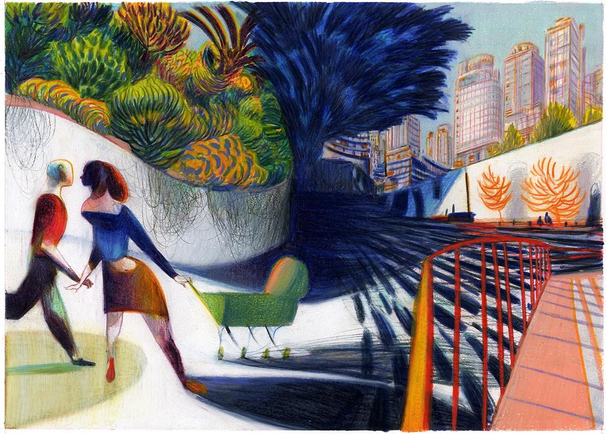 Lorenzo Masotti , Urban Landscape, 2007