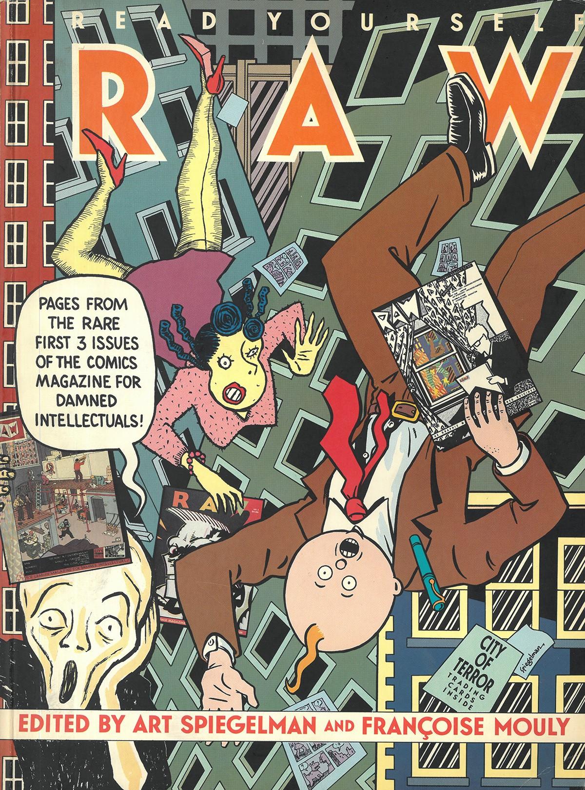 Art Spiegeman, Cover Raw, 1987