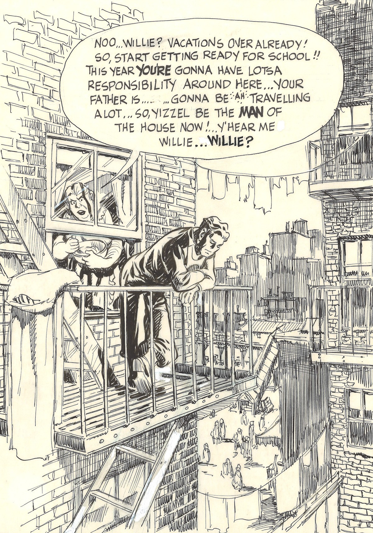 Will Eisner, A Contract with God (Cover), 1978