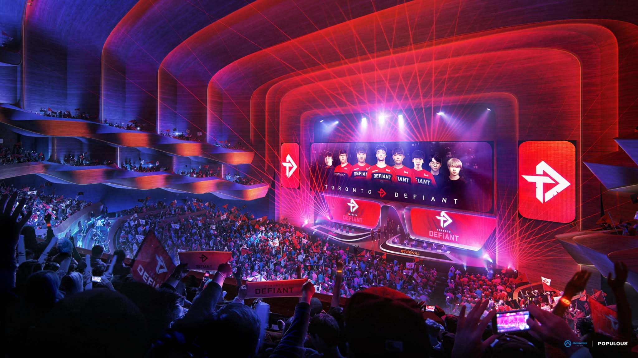 Visualisierung E-Sport-Turnier Toronto
