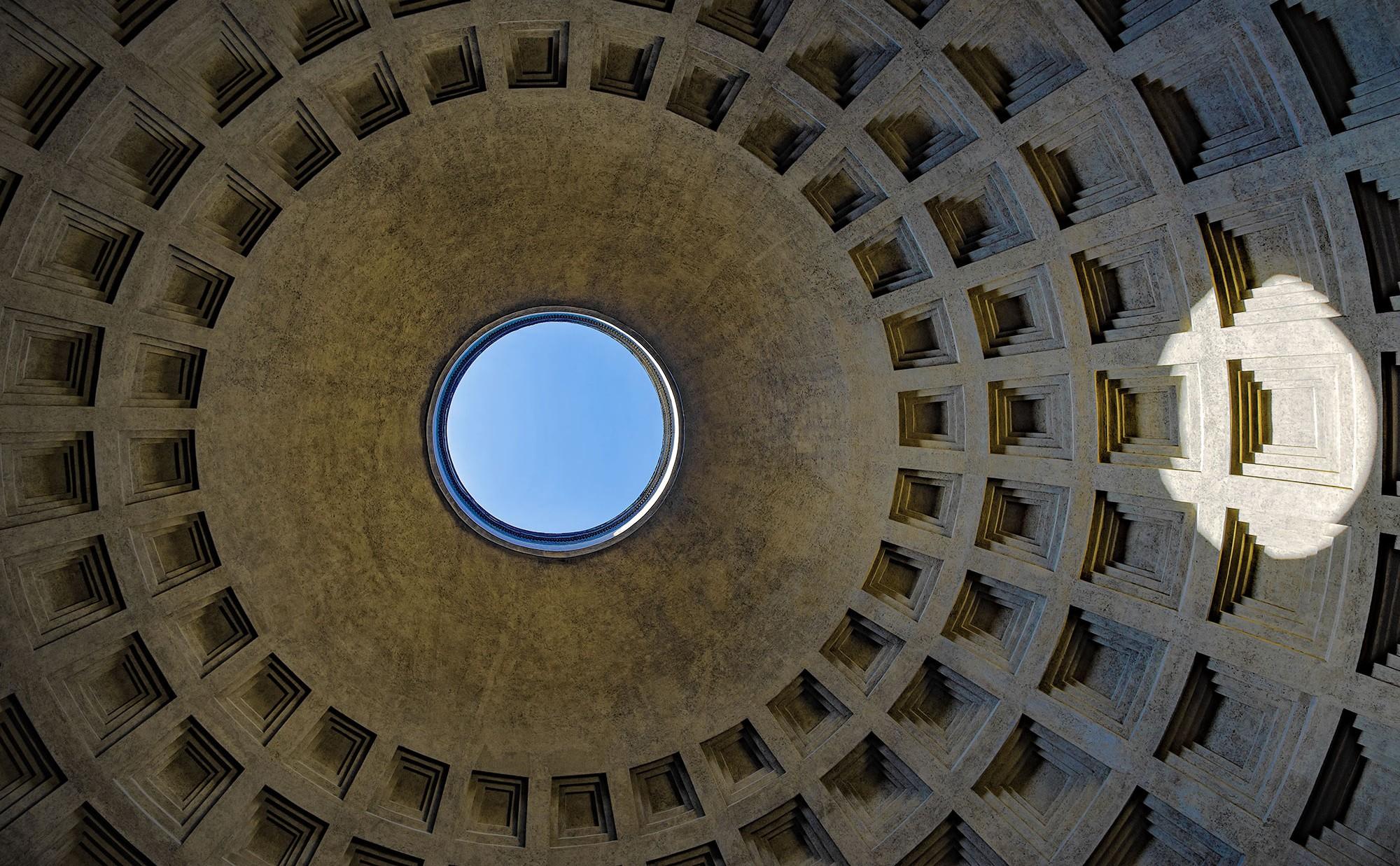 Pantheon in Rom, Kuppel
