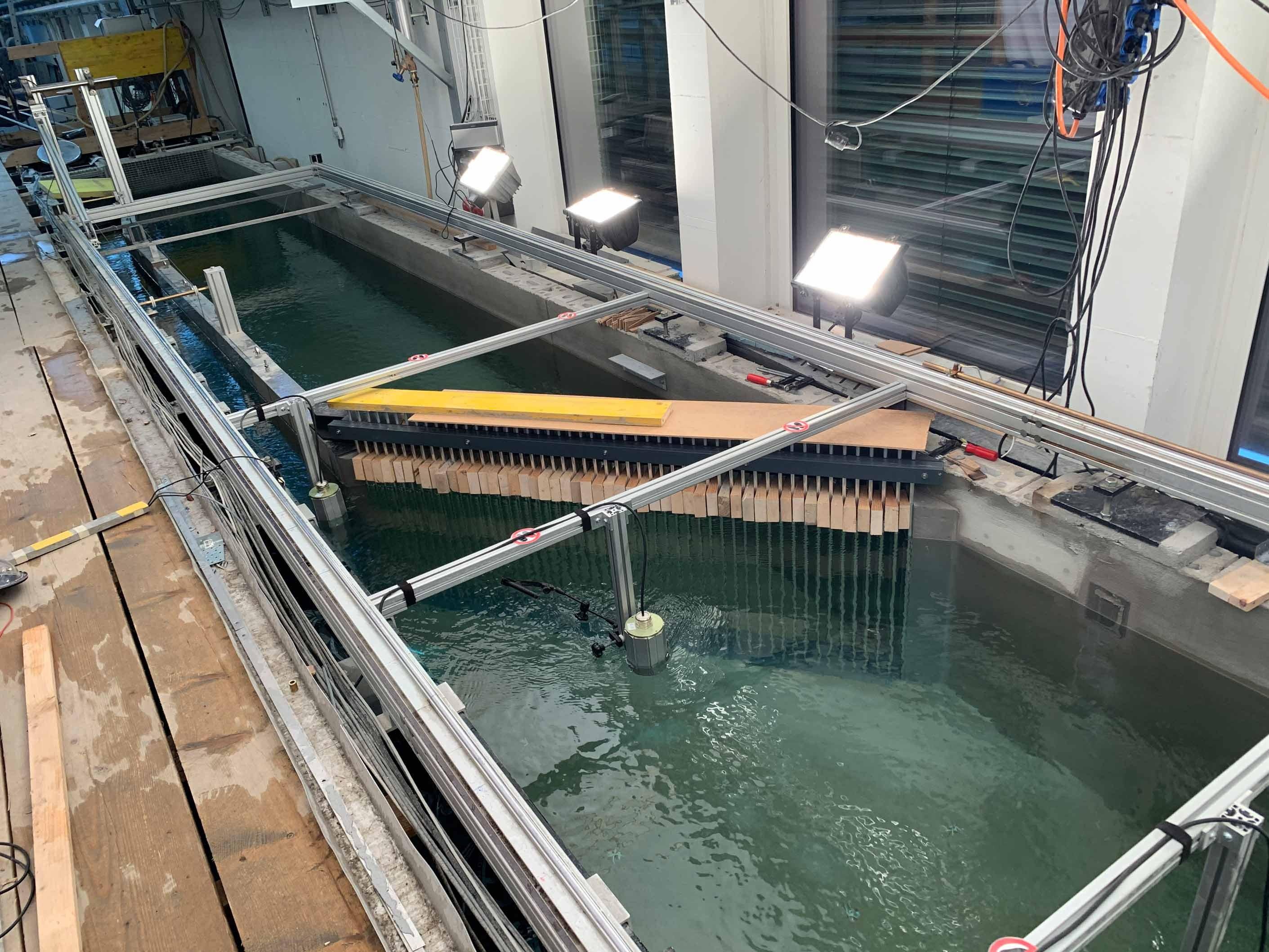 Fischleitrechen-Testanlage der VAW