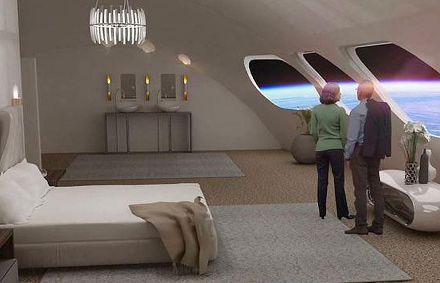 Weltraum-Hotel