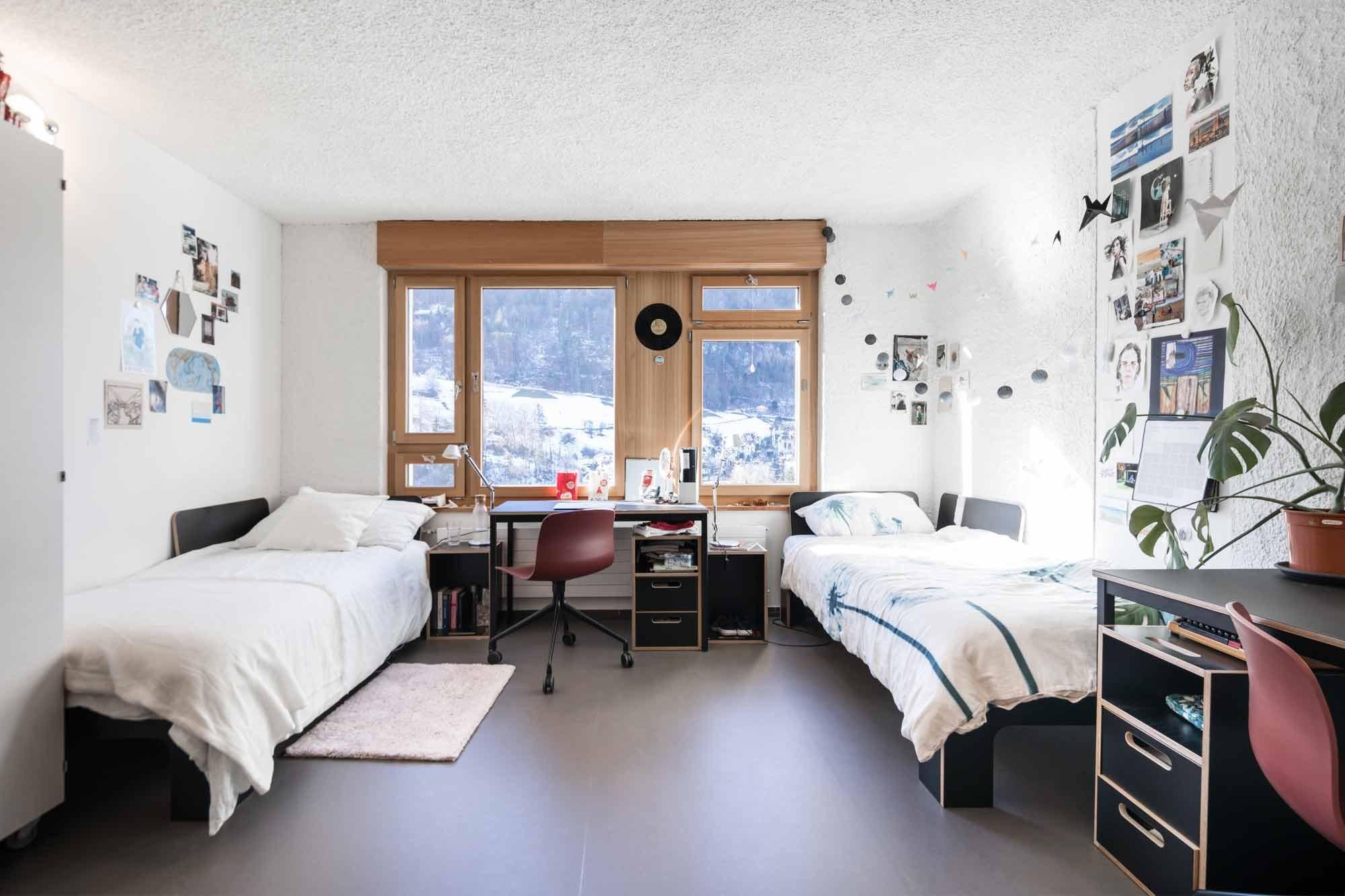 Doppelzimmer im sanierten Konvikt Chur