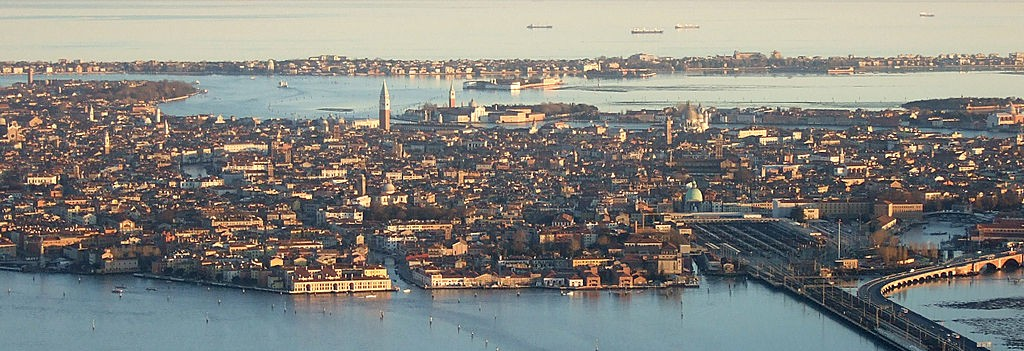 Luftbild Venedig