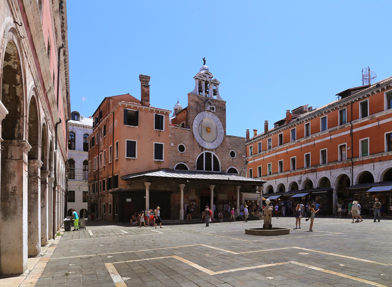 Venedig Kirche San Giacomo di Rialto