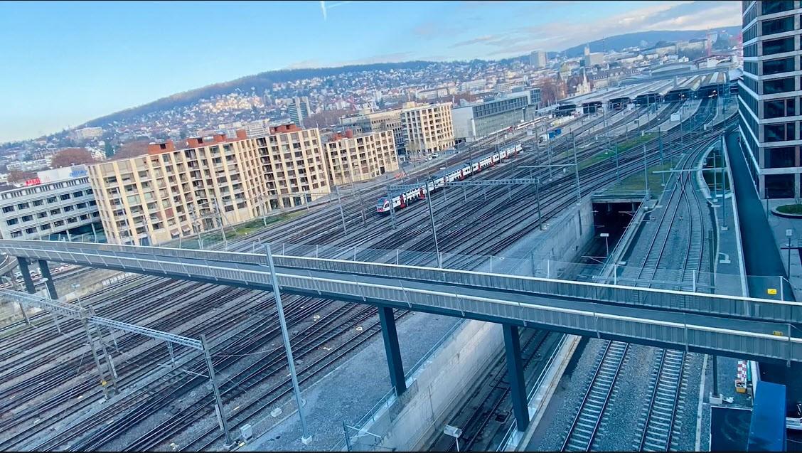 Negrellisteg in Zürich