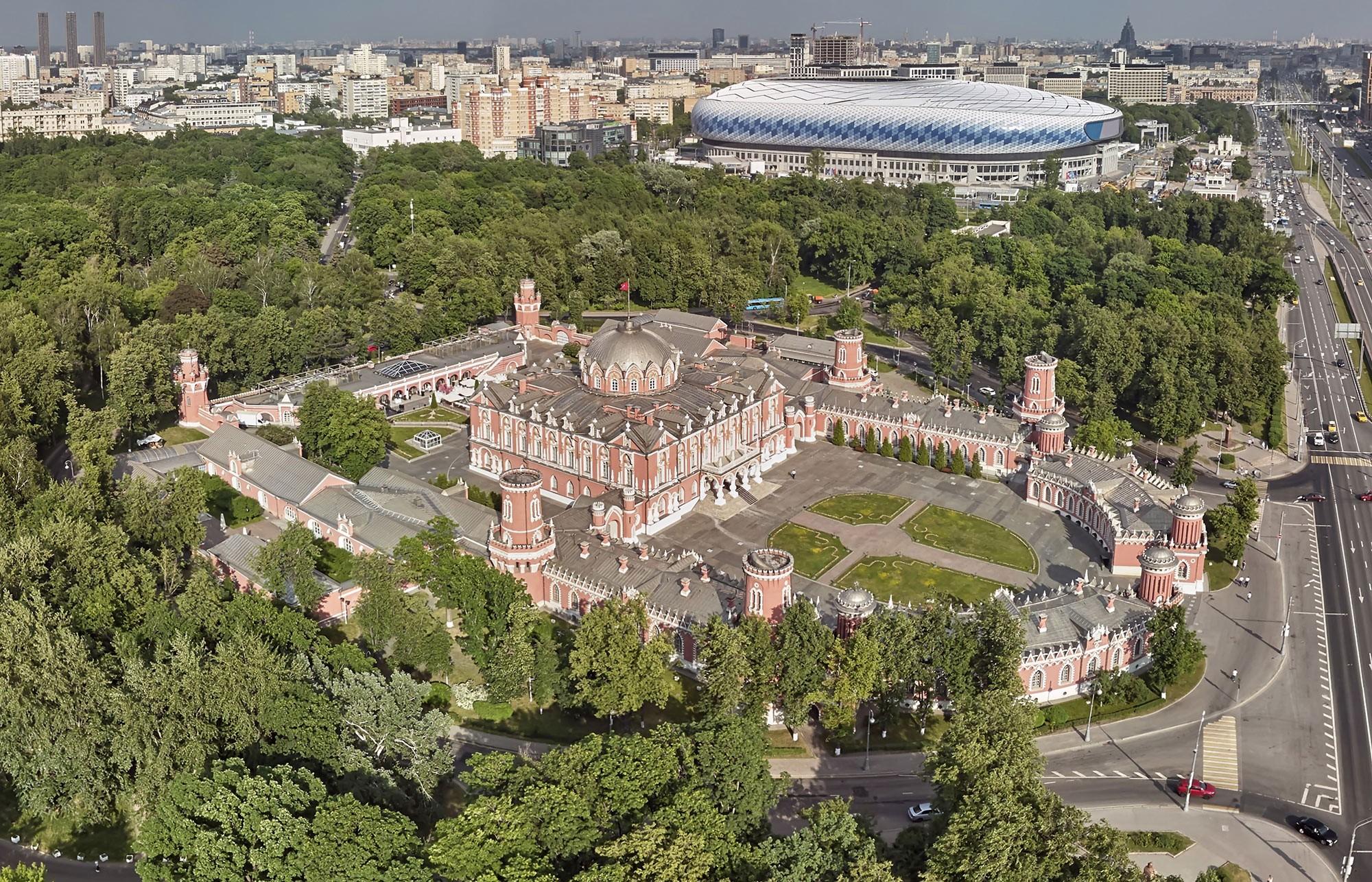 Petrowski-Putewoj-Palais, 1776-1780