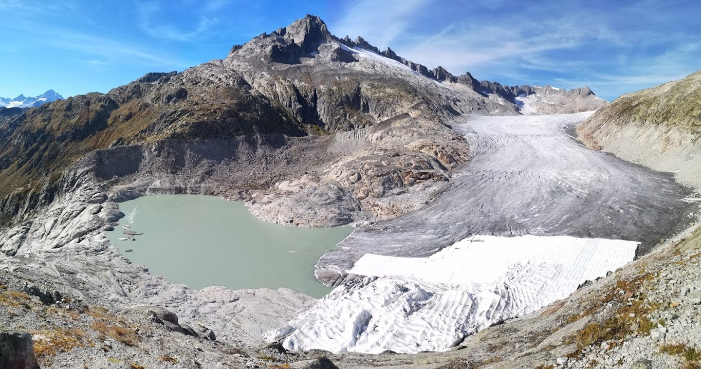Rhonegletscher im September 2018