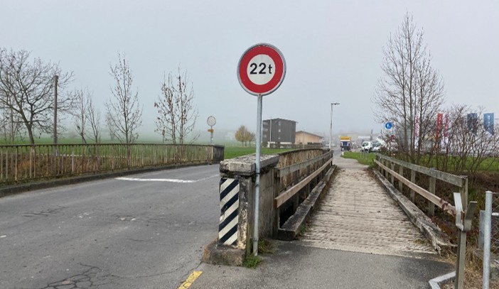 Brücke zwischen Kägiswil und Kerns