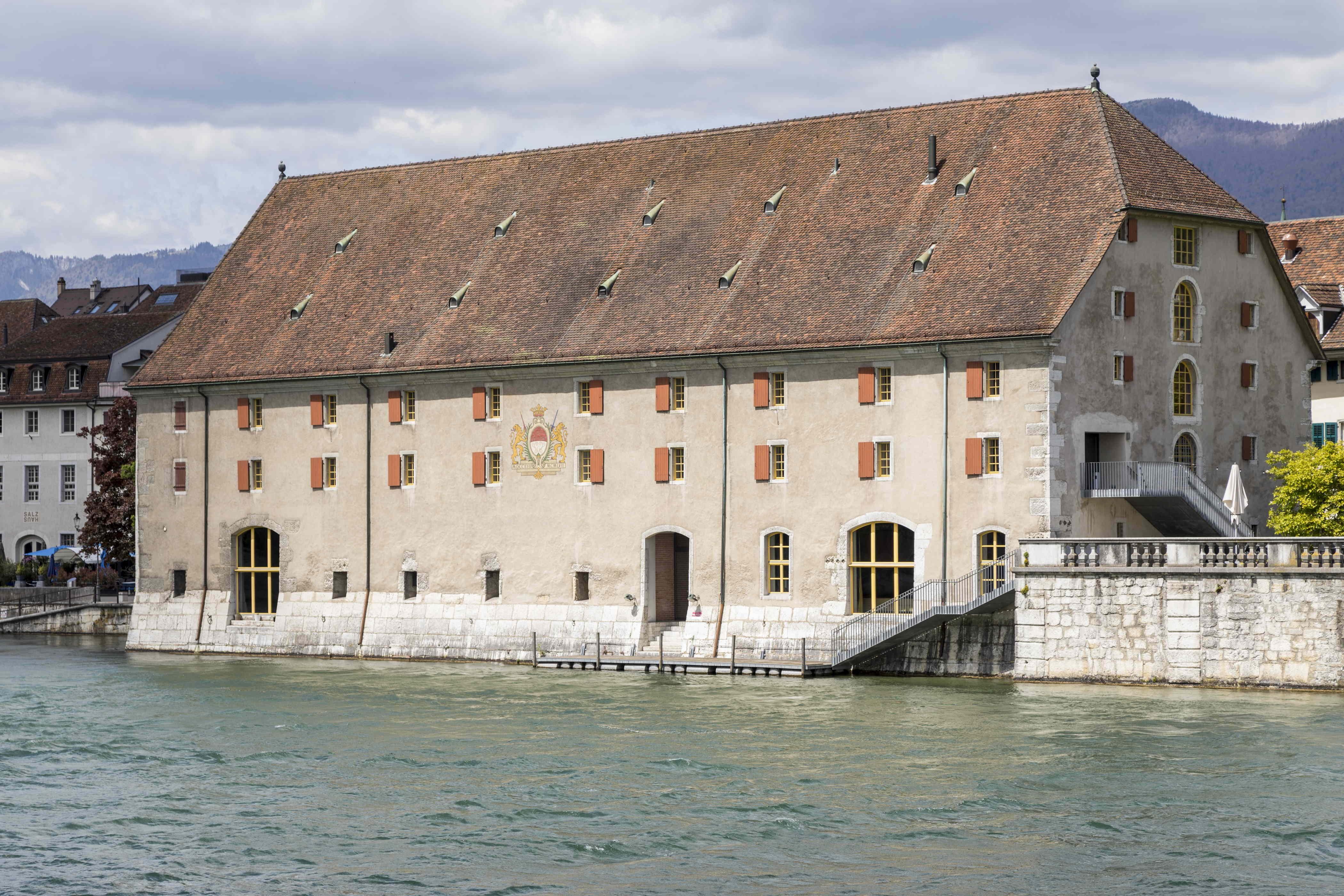 Landhaus Solothurn Aare