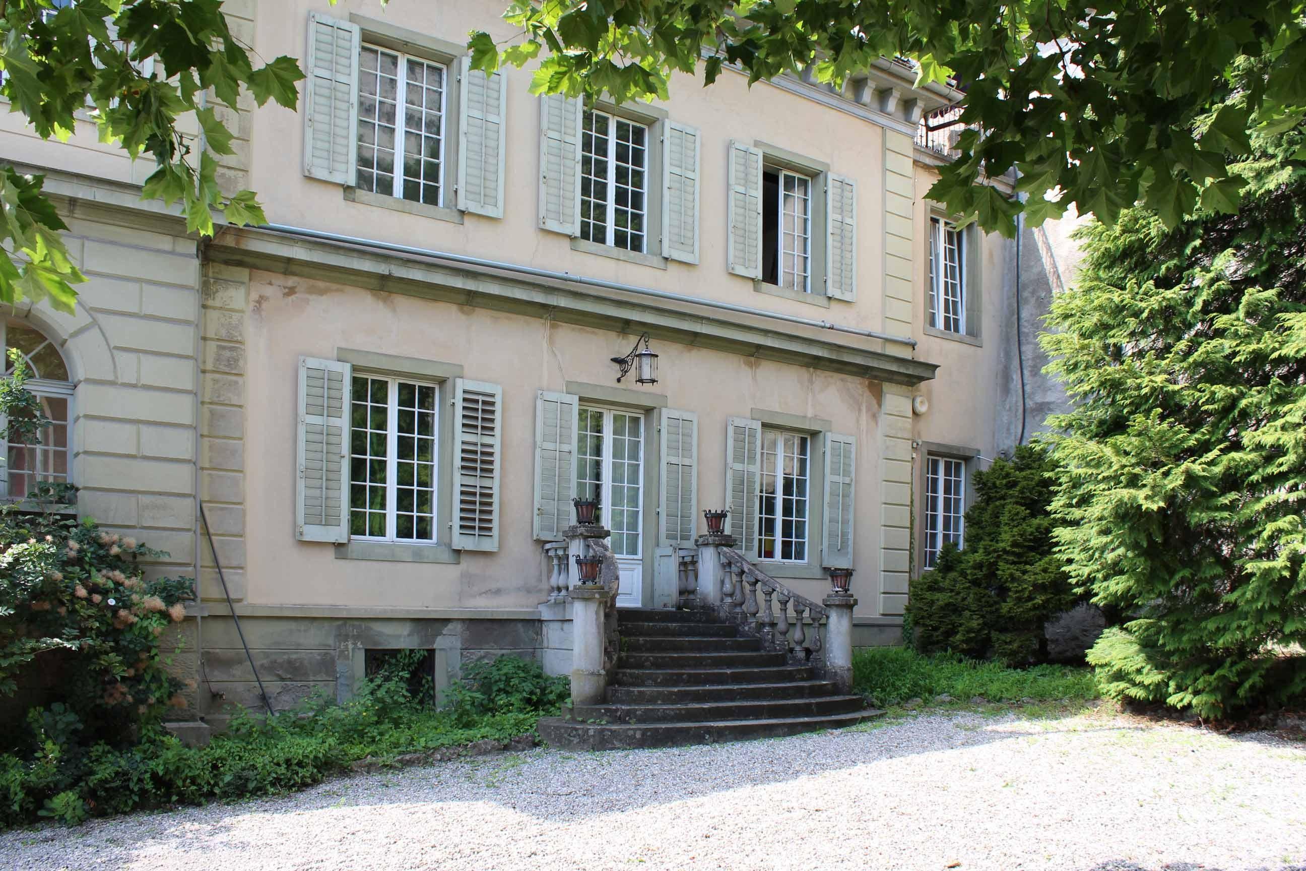 Ostfassade Villa Musegg in Luzern