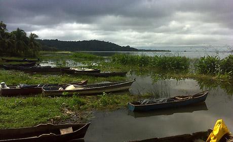 Düstere Zeiten für den Nicaragua-See? (Foto: Axel Meyer)