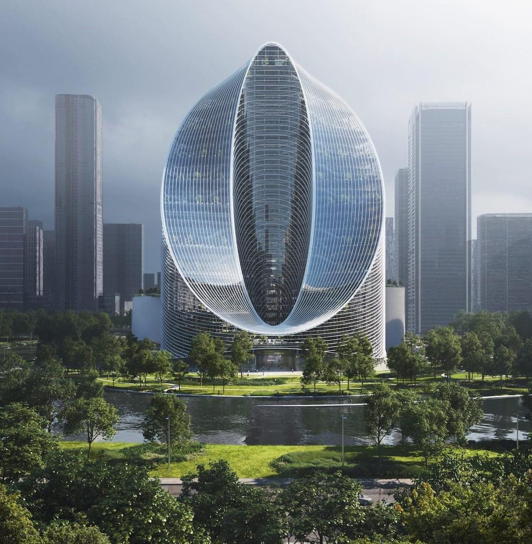 O-Tower Wolkenkratzer in Hangzhou von BIG