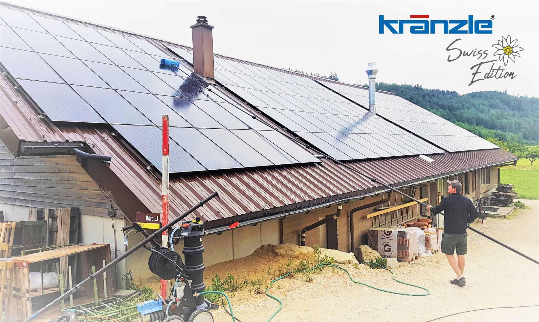 Photovoltaikanlage auf Bauernhof