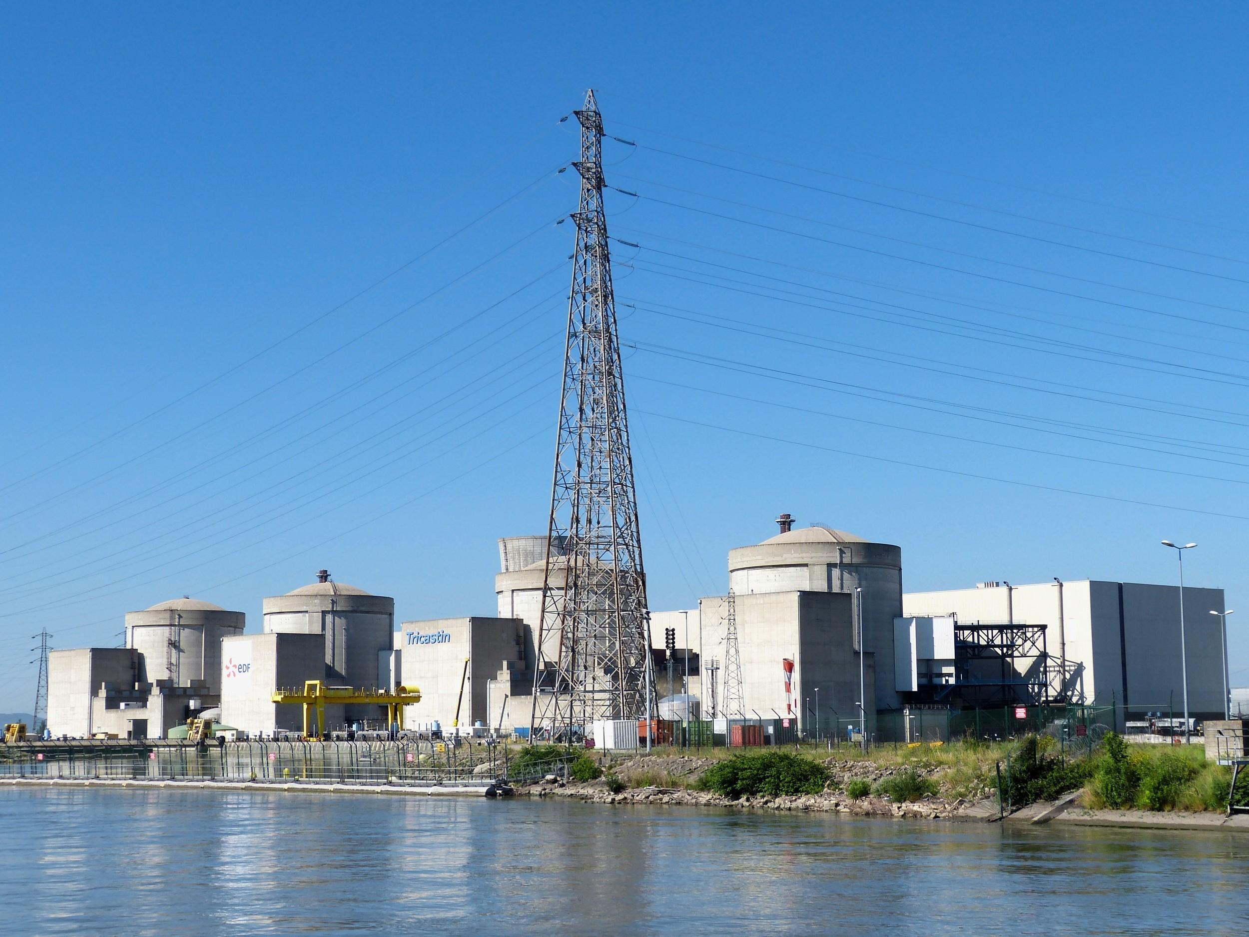 Reaktoren von Tricastin in Frankreich