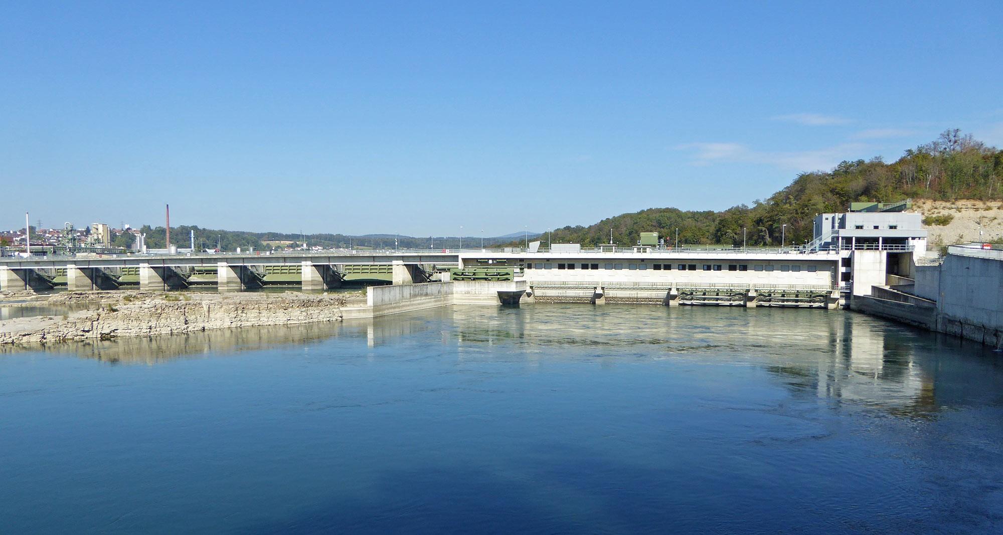 Wasserkraftwerl Rheinfelden