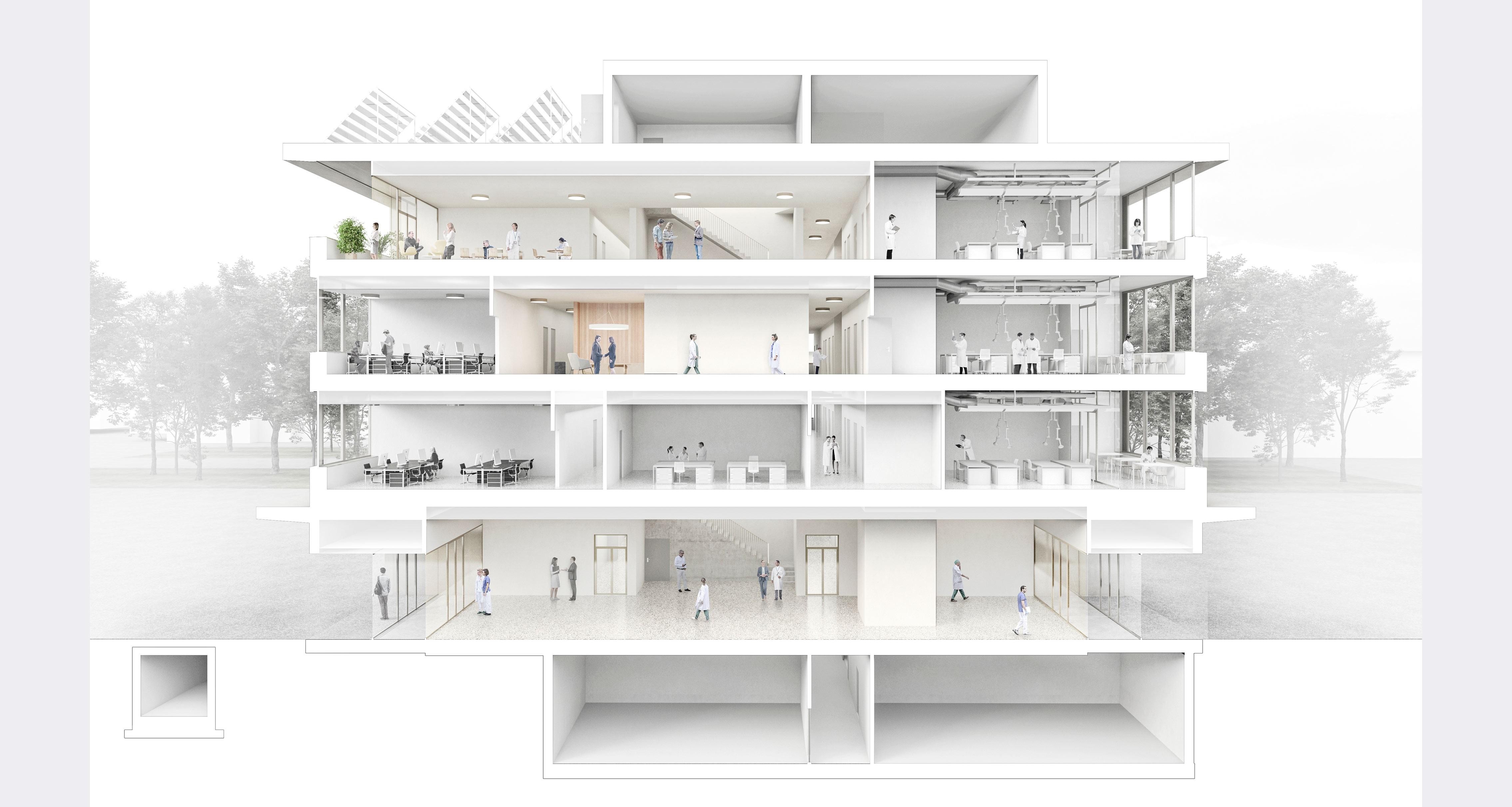 Neues Laborgebäude der Empa