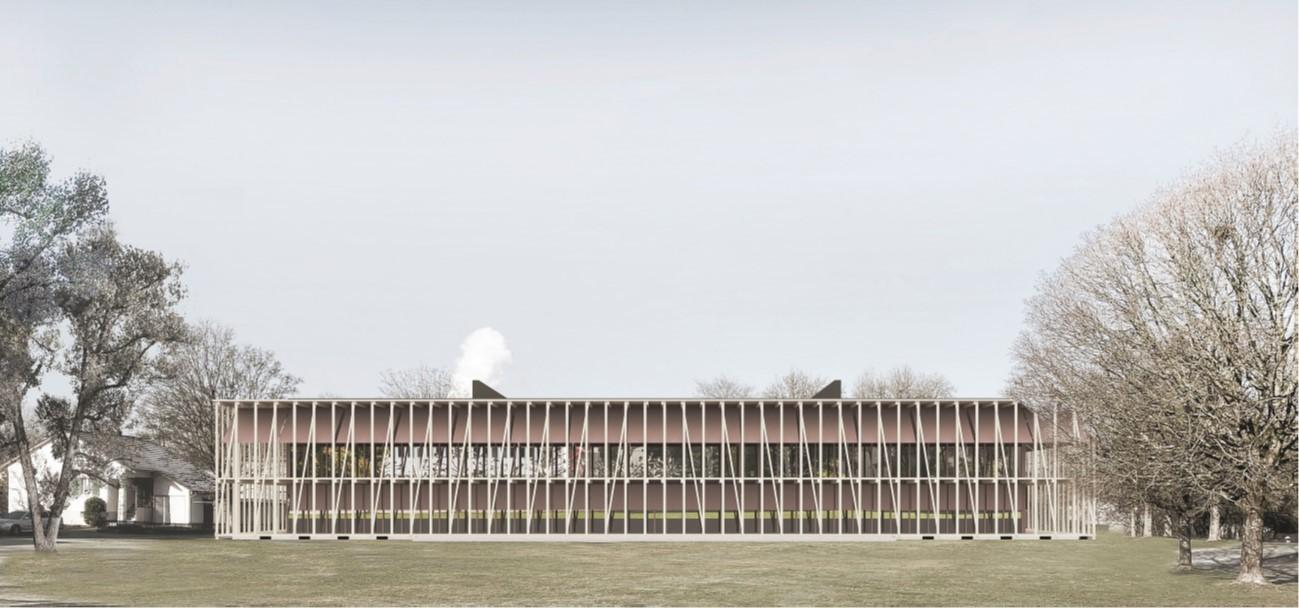 Visualisierung Neubau Amt für Verbraucherschutz in Unterentfelden