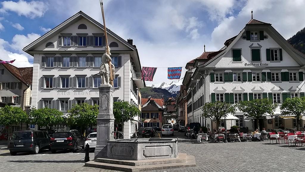 Dorfplatz in Stans