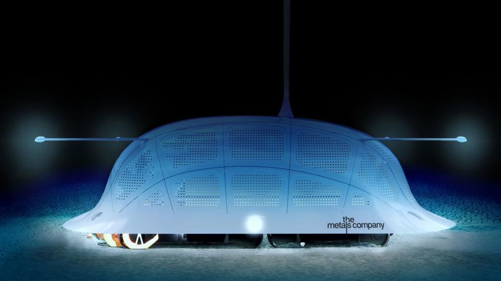 Roboter für Abbau von Metall-Knollen im Meer
