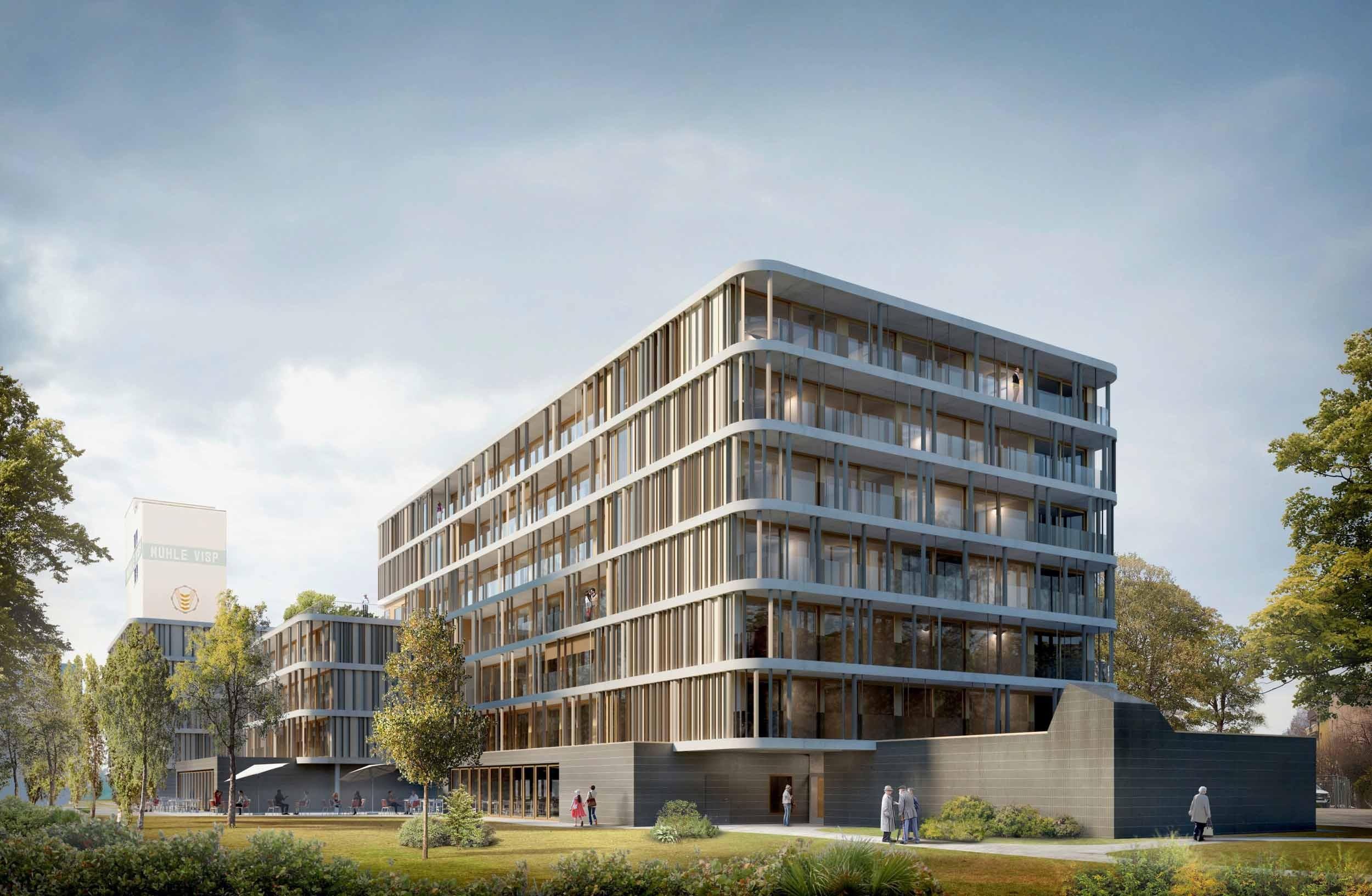 Visualisierung Martinsheim in Visp