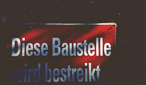 Baustellenstreik (Bild: mephisto19 / flickr.com)