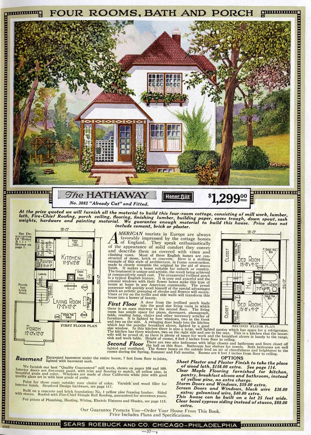 Hausmodell The Hathaway von Sears Home