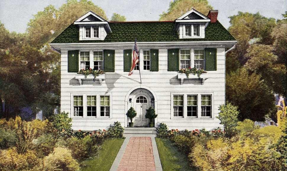 Hausmodell The Preston aus dem Sears-Katalog
