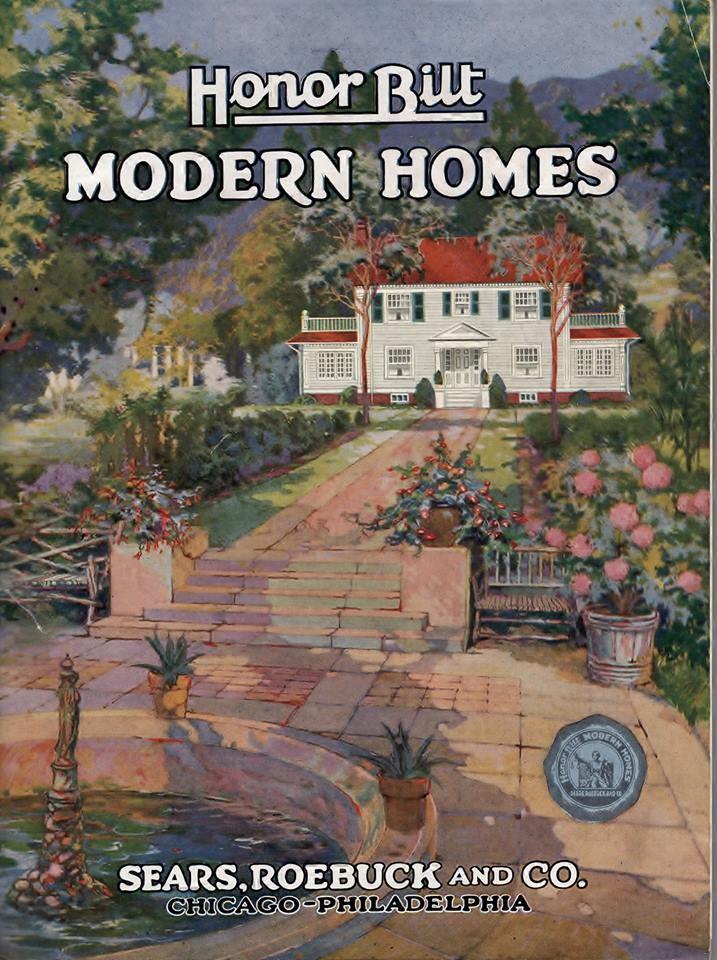 Cover Sears Modern Homes Katalog von 1922