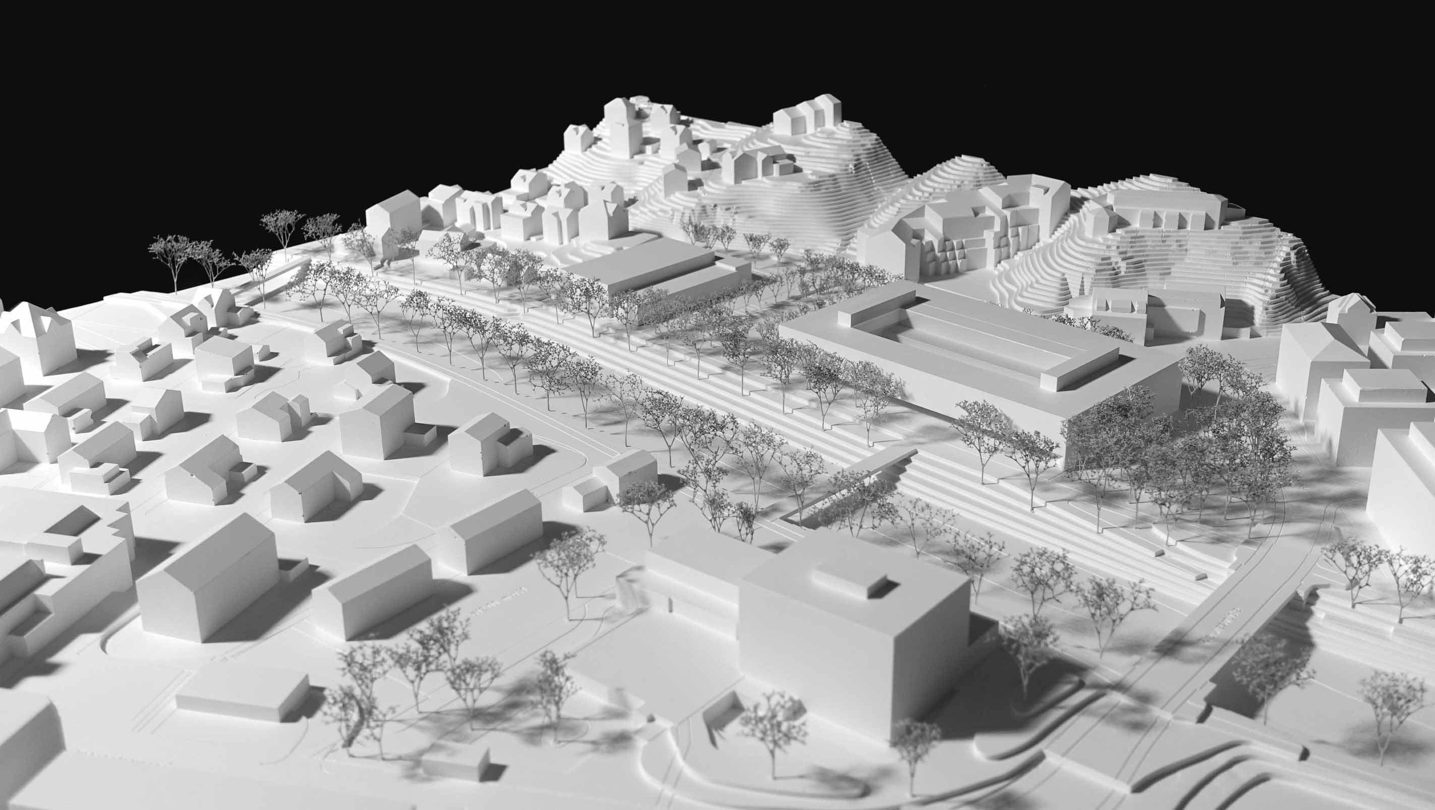 Modell des Projekts «CÉLESTE»