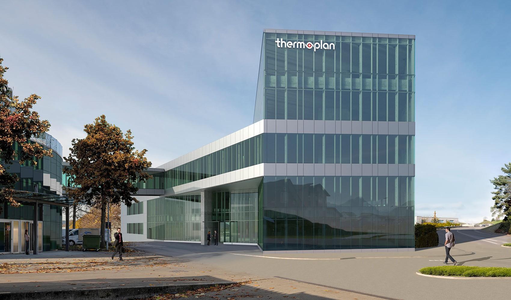 Visualisierung Thermoplan-Neubau in Weggis