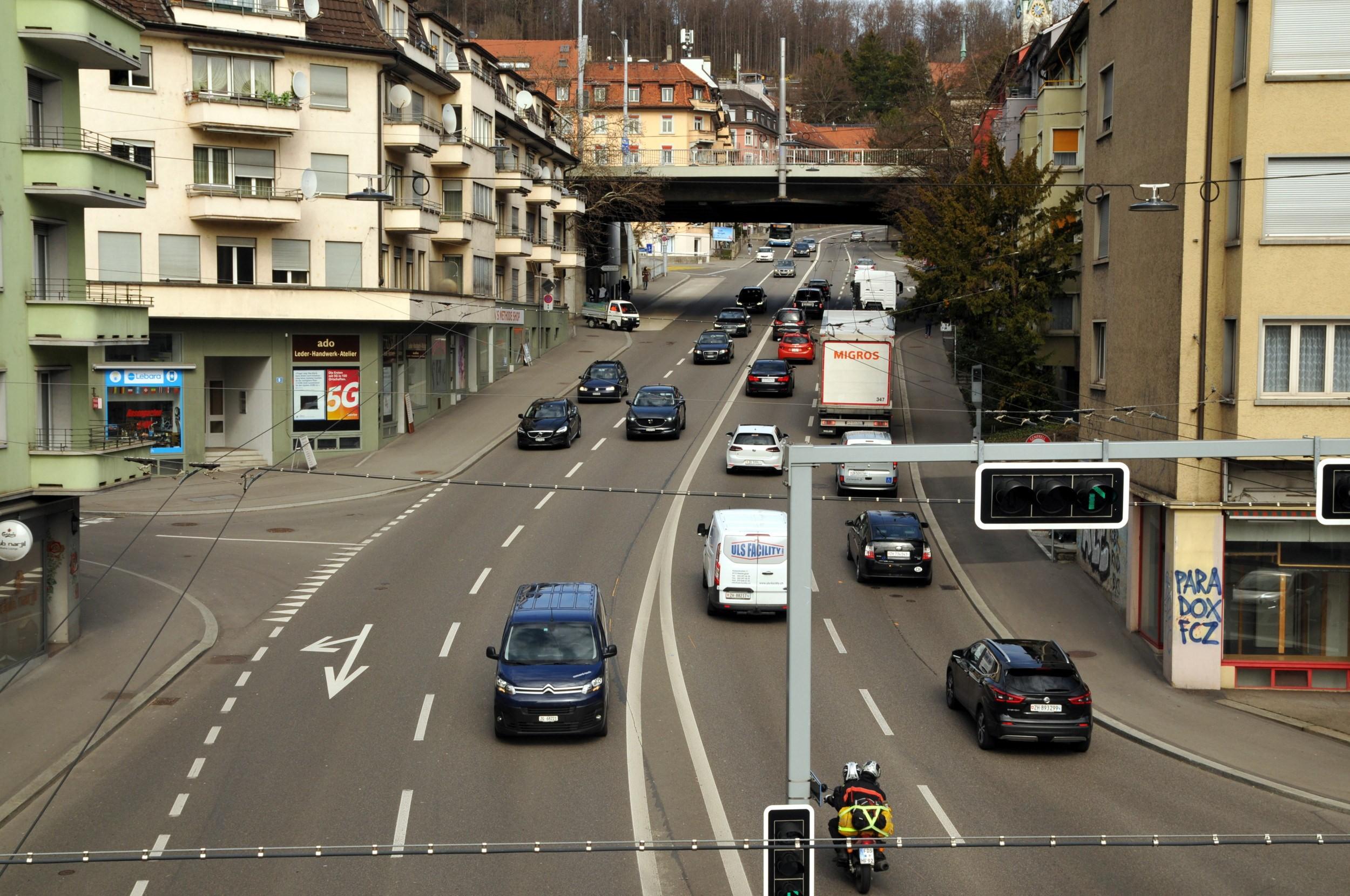 Rosengartenstrasse Zürich Lärm