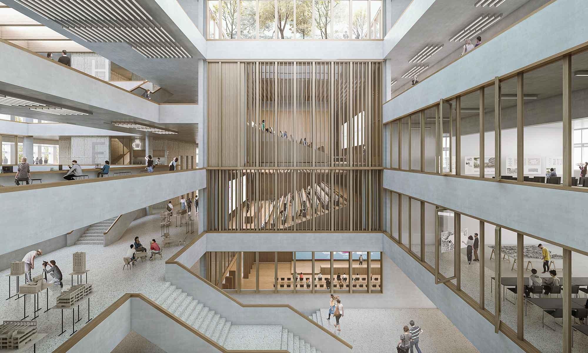 Visualisierung Erneuerung Campus Horw Projekt Gravity