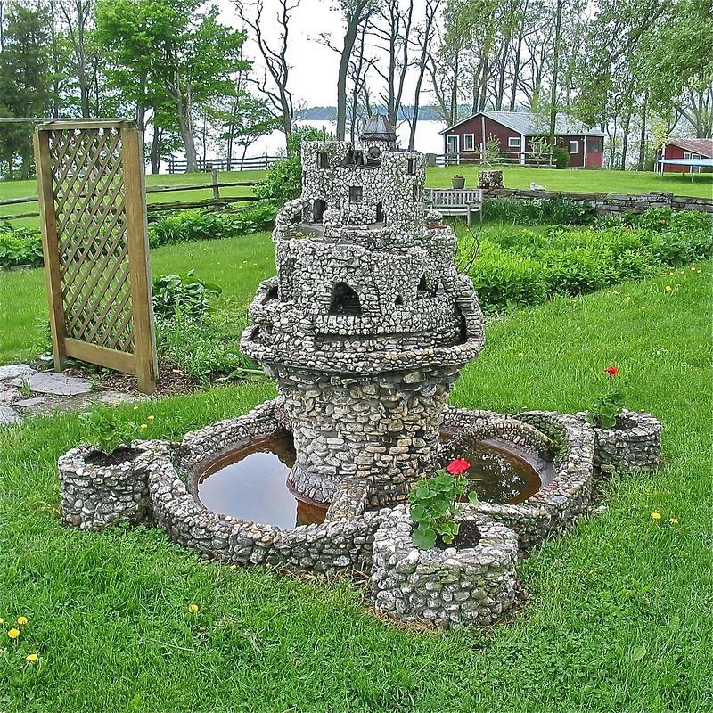Mini-Schloss von Henry Barber in South Hero