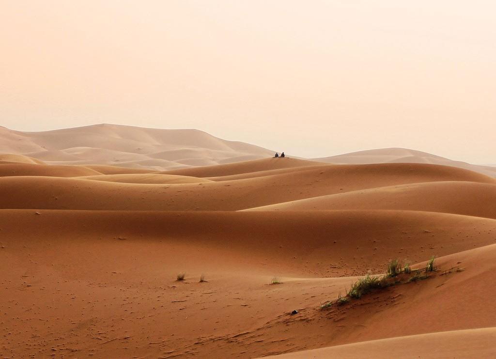 Wüste, Marokko