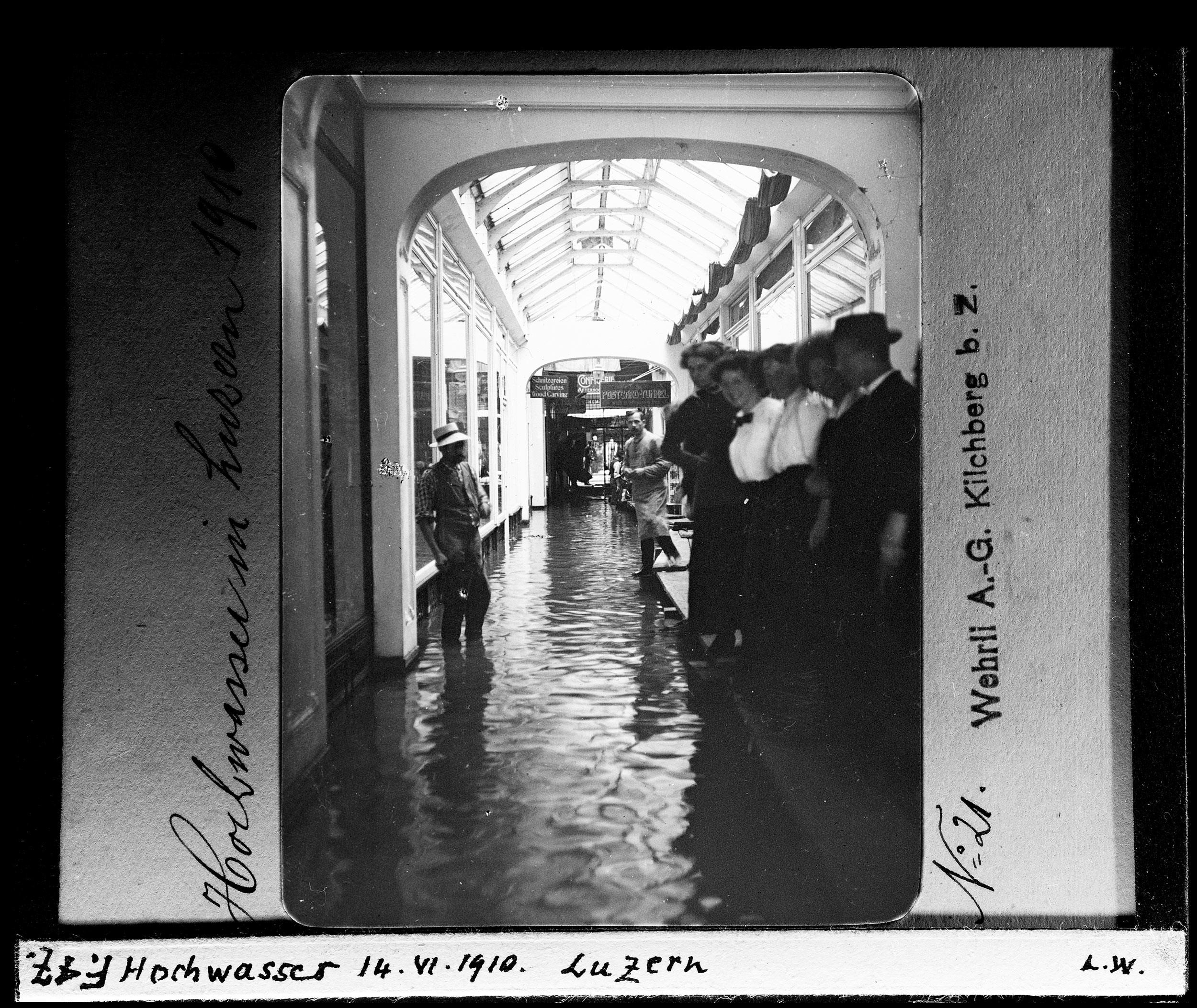 Hochwasser im Juni 1910, Luzern