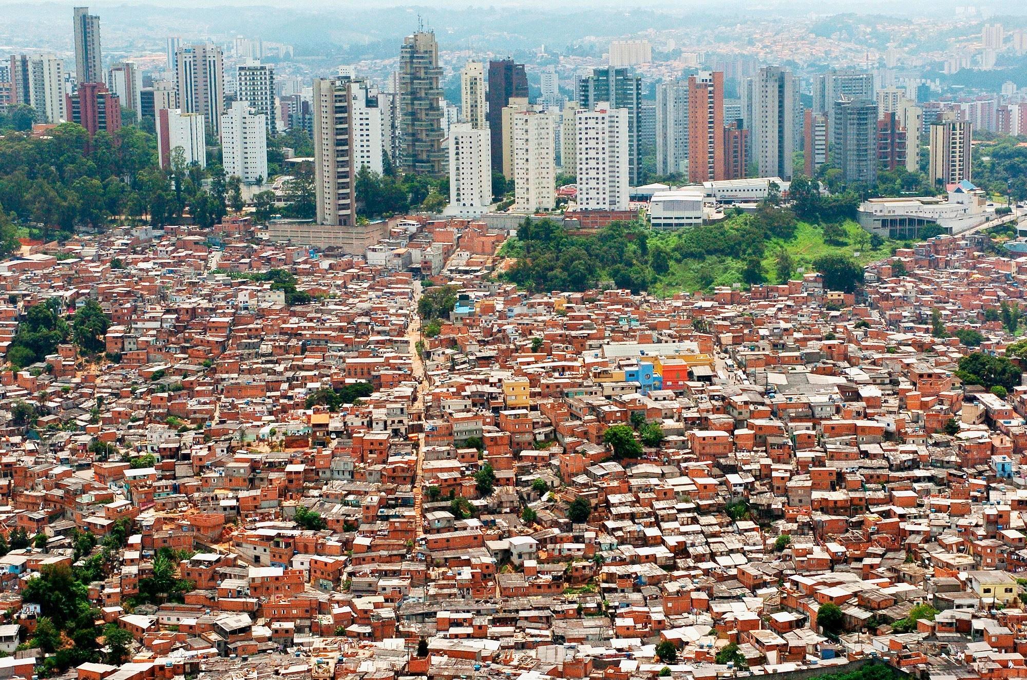 Favela Morumbi Sao Paulo