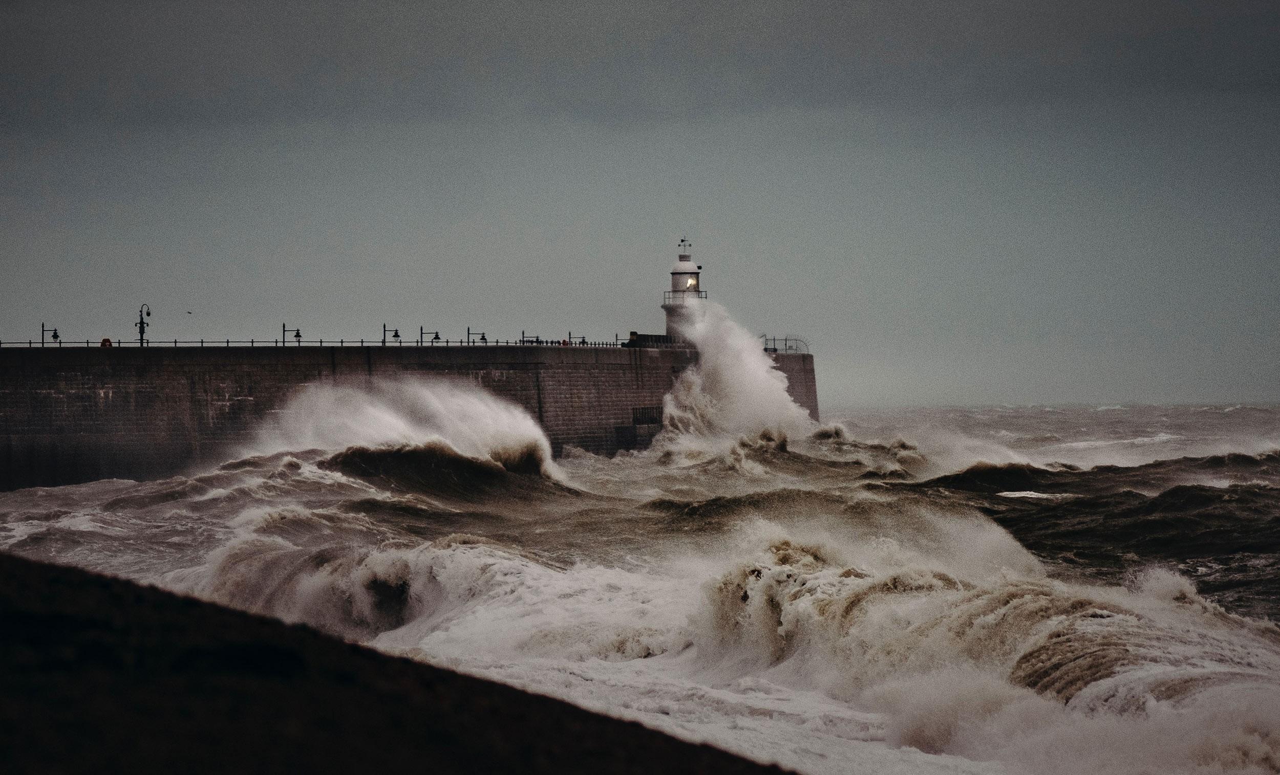 Hafenarm von Folkestone