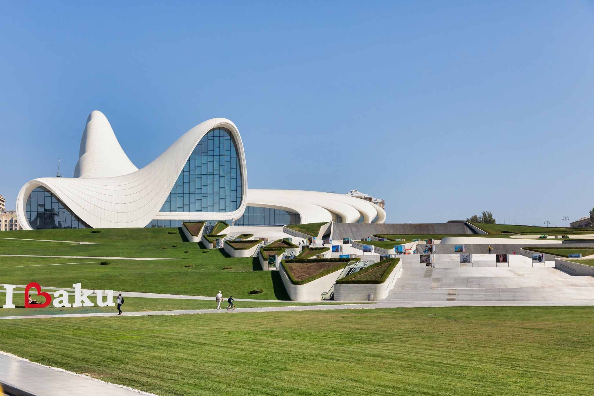 Heydar Aliyev Center in Aserbaidschan