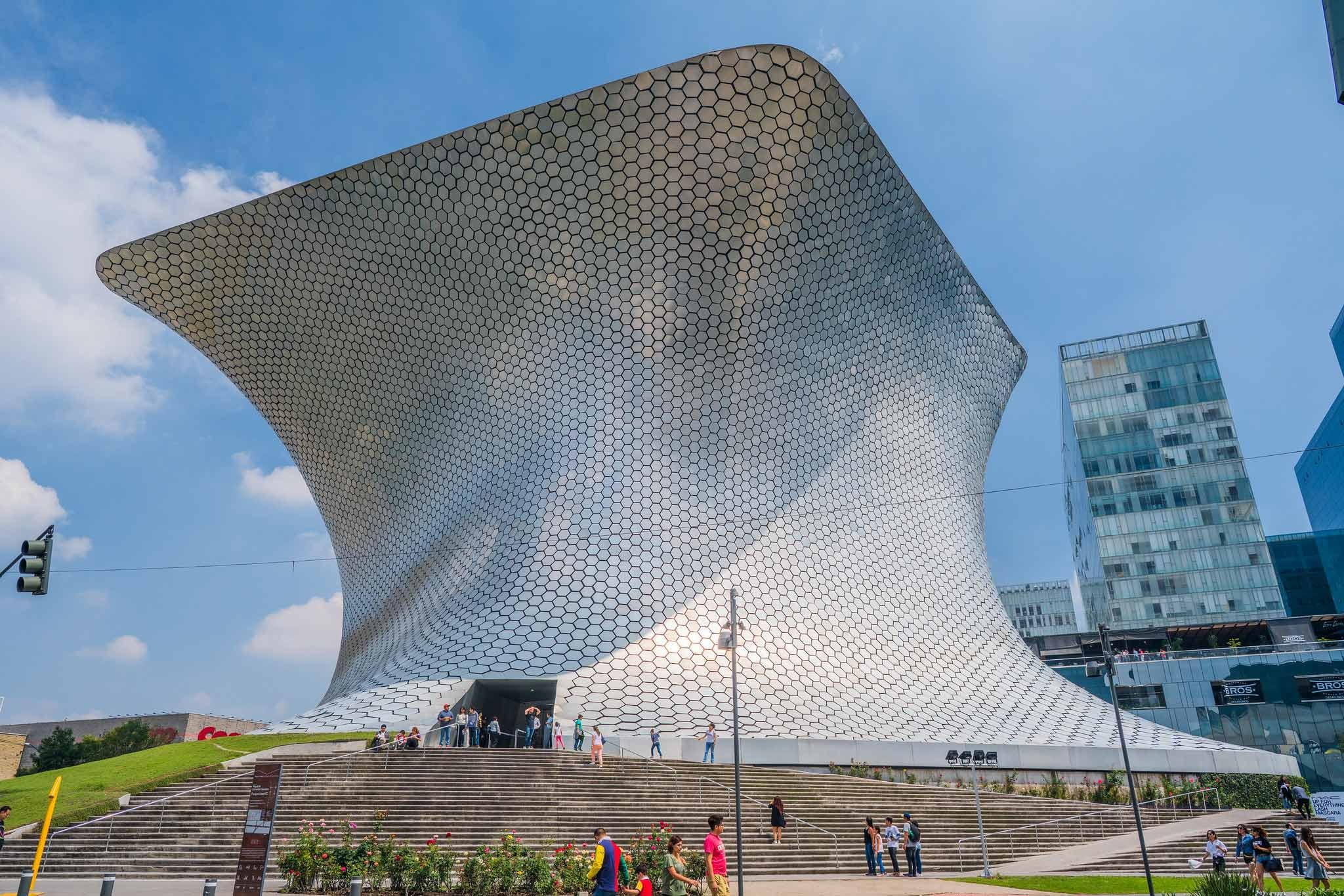 Museo Soumaya in Mexiko-Stadt