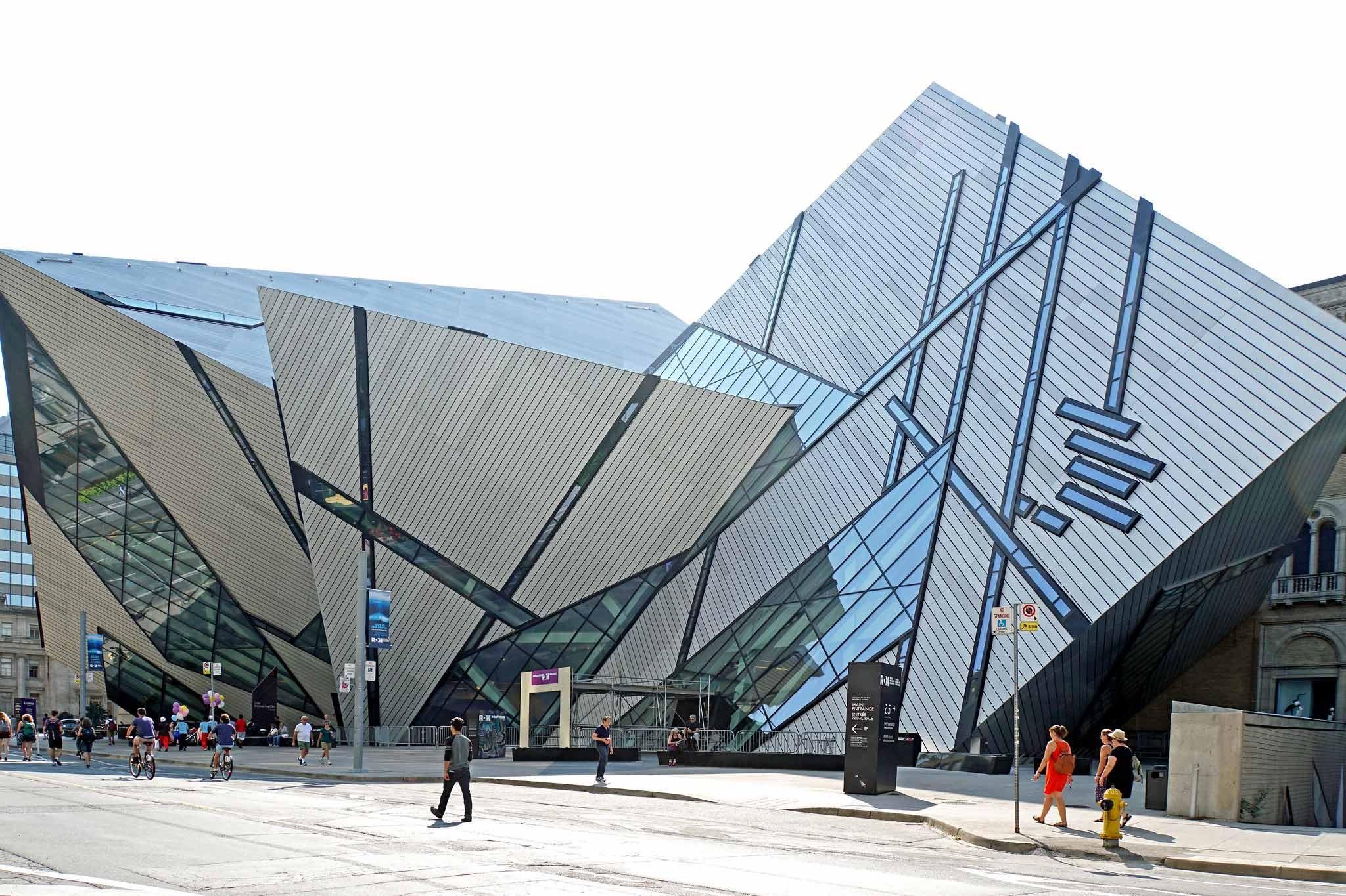 Royal Ontario Museum in Toronto Kanada