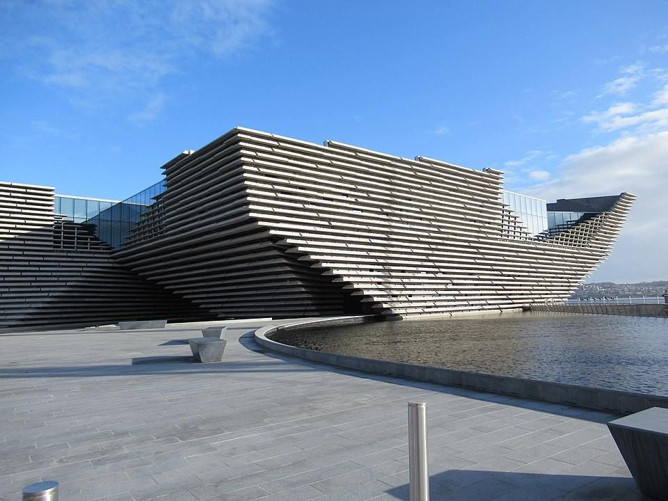 V&A Dundee Museum in Schottland